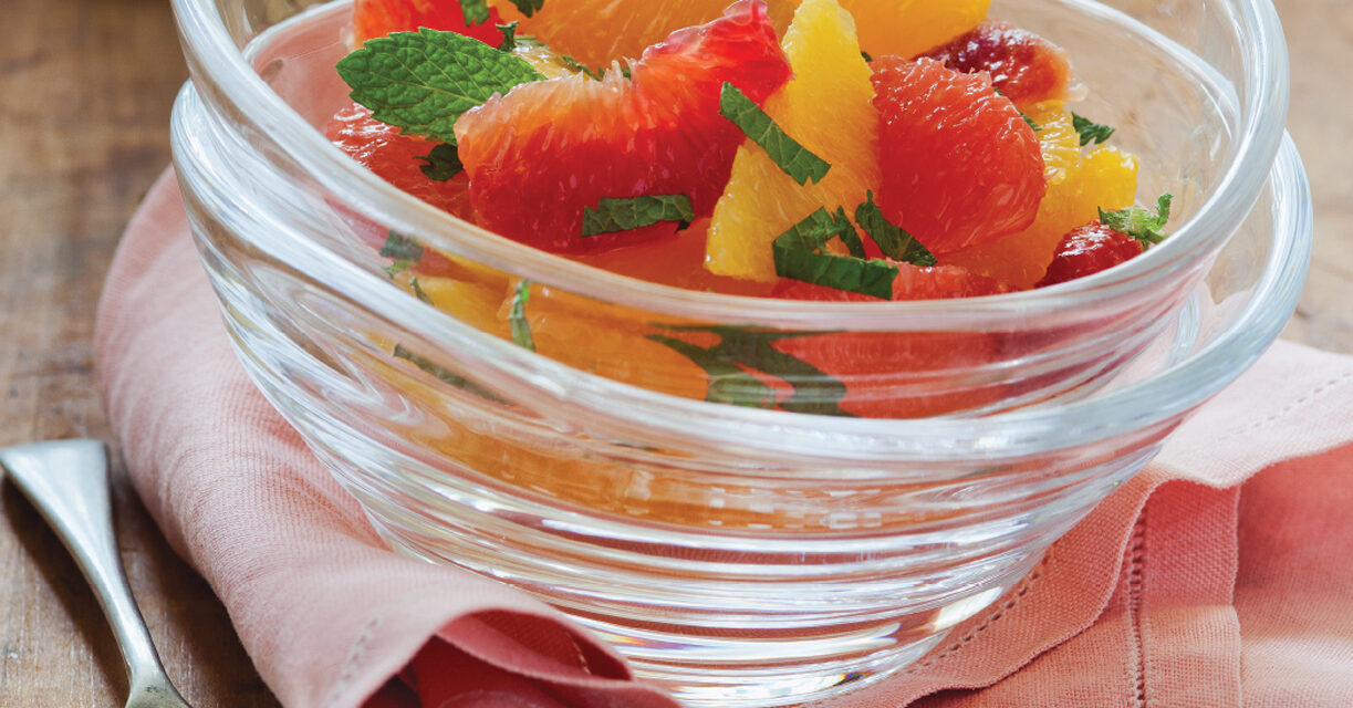 Seven Citrus Salad with Mint
