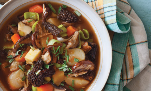 Elegant Mushroom and Winter Vegetable Stew