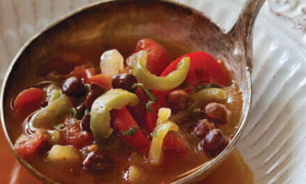 Mexican Pepper and Black Chickpea Stoup