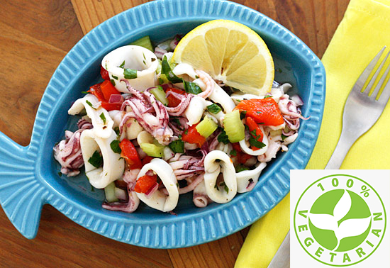 Calamari Parsley Salad