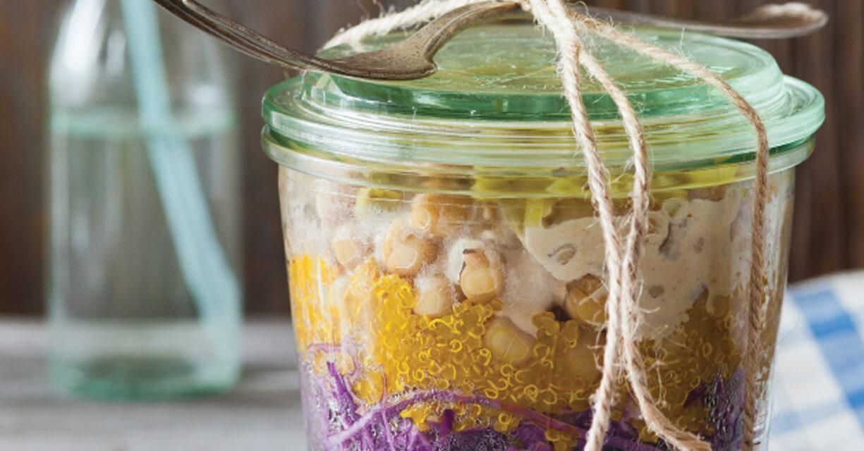 Mediterranean Breeze Bowl with Lemon Garlic Tahini Sauce